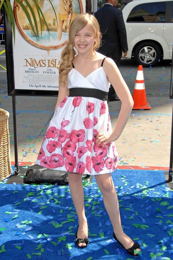 Chloe Moretz royalty-vrije stock foto's