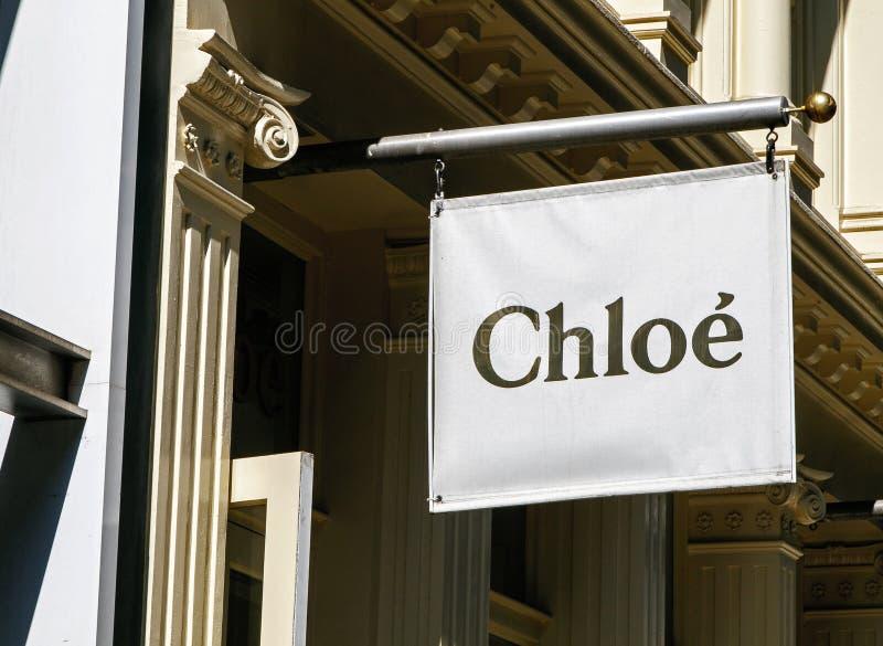 Chloebanner stock fotografie