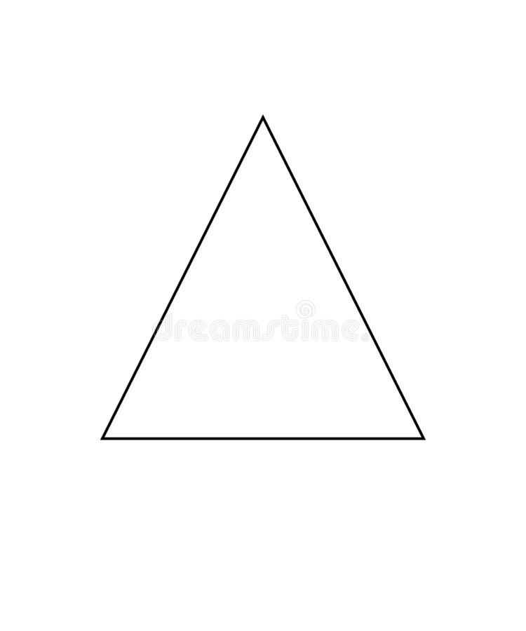 Chlorine can be used. Triangle sign. Symbol for the care of clothing. Eps ten vector illustration