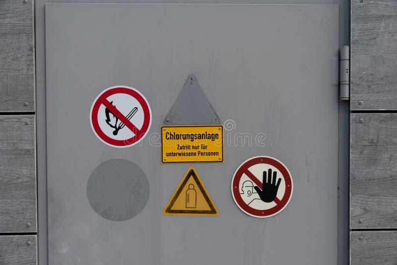 Chlorkowanie system dla instruujących persons - tylko zdjęcia stock