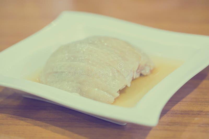 Chmielny kurczaka chińczyka jedzenie obrazy stock