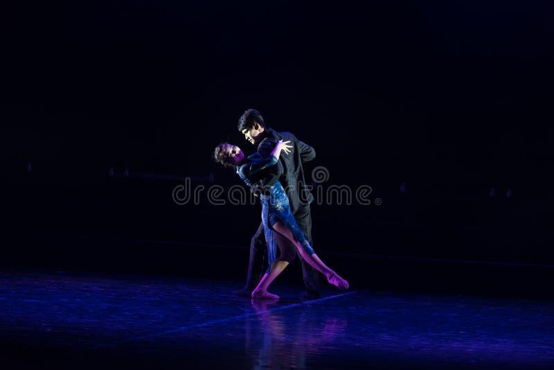 Chmielny tango 1--Tana dramata osioł dostaje wodnym obraz stock