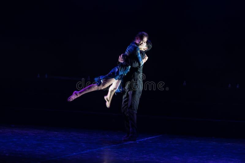 Chmielny tango 2--Tana dramata osioł dostaje wodnym zdjęcia stock