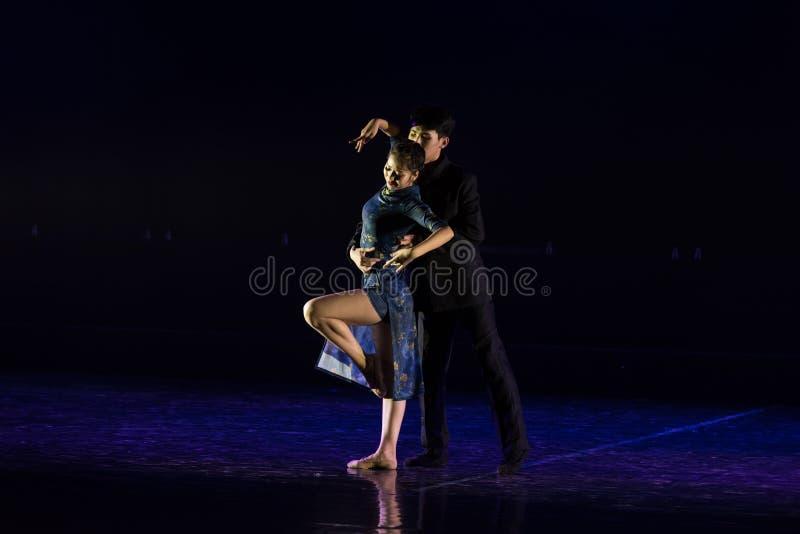 Chmielny tango 7--Tana dramata osioł dostaje wodnym obraz stock