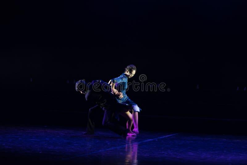 Chmielny tango 8--Tana dramata osioł dostaje wodnym zdjęcia stock