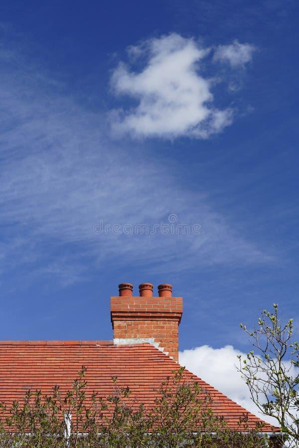 Chmura Dach Zdjęcia Royalty Free