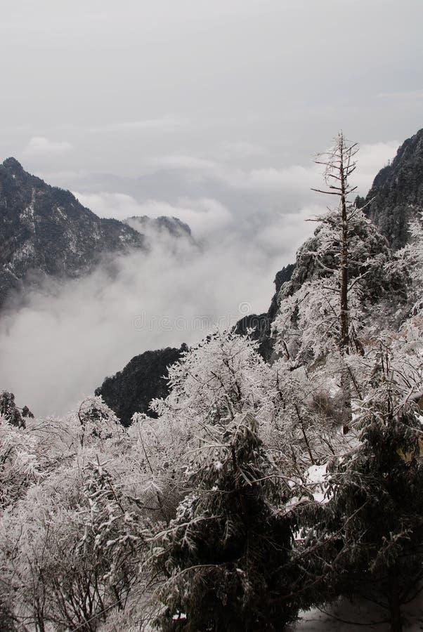 chmura górski morza zdjęcie royalty free