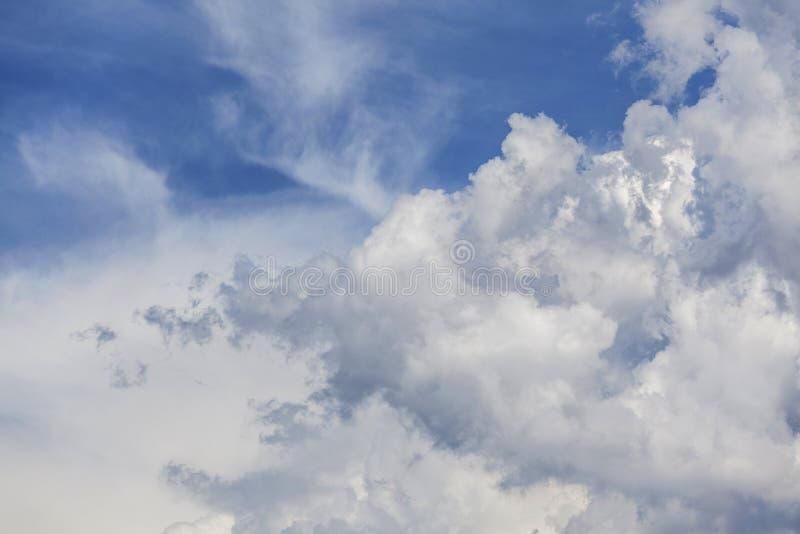Chmura i niebo zdjęcie royalty free