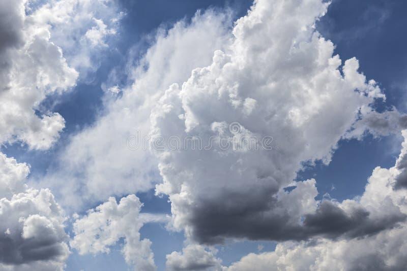 Chmura i niebo obrazy royalty free