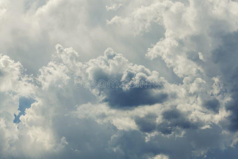 Chmura i niebo obraz stock