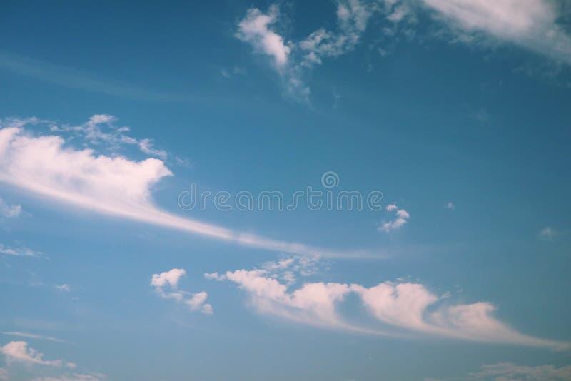 Chmura jak wiatr zdjęcie stock