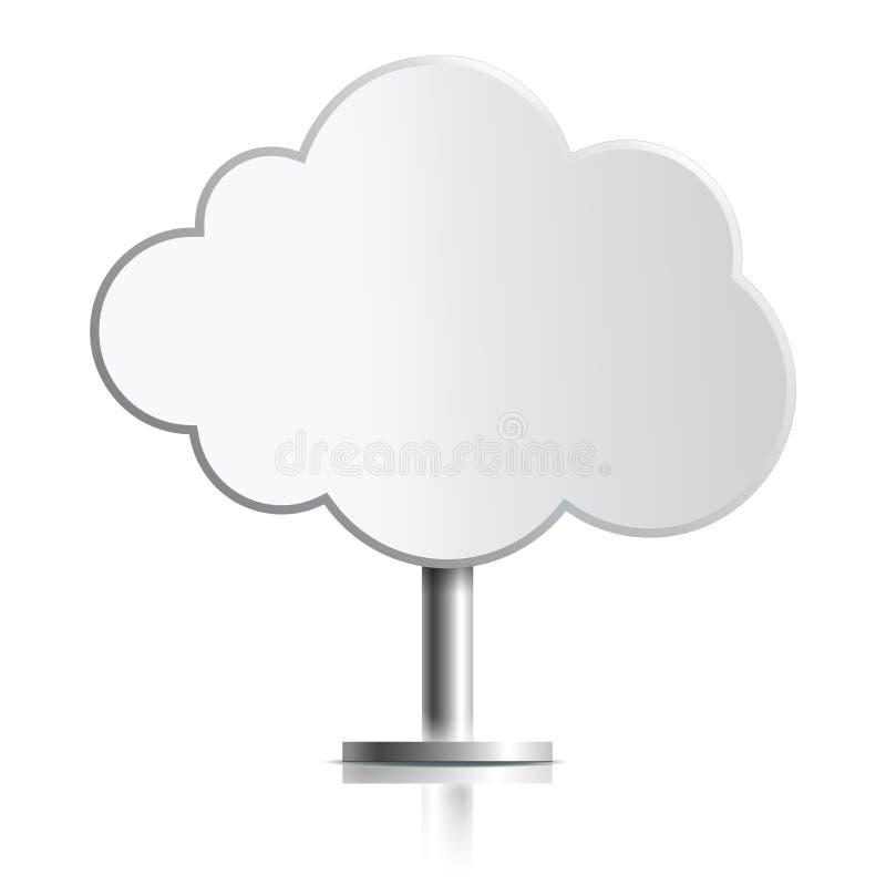 Chmura jako stojak zdjęcia royalty free