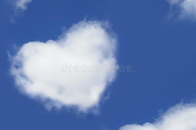 chmura kolaż w serce obrazy royalty free