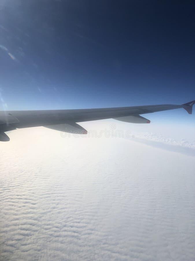 Chmura na niebie obrazy stock