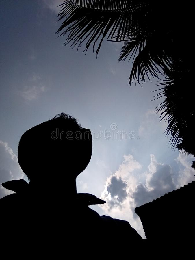 chmura na niebie zdjęcia stock