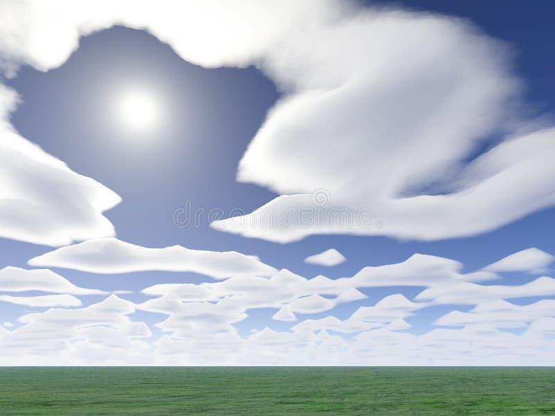 chmura synu ilustracji