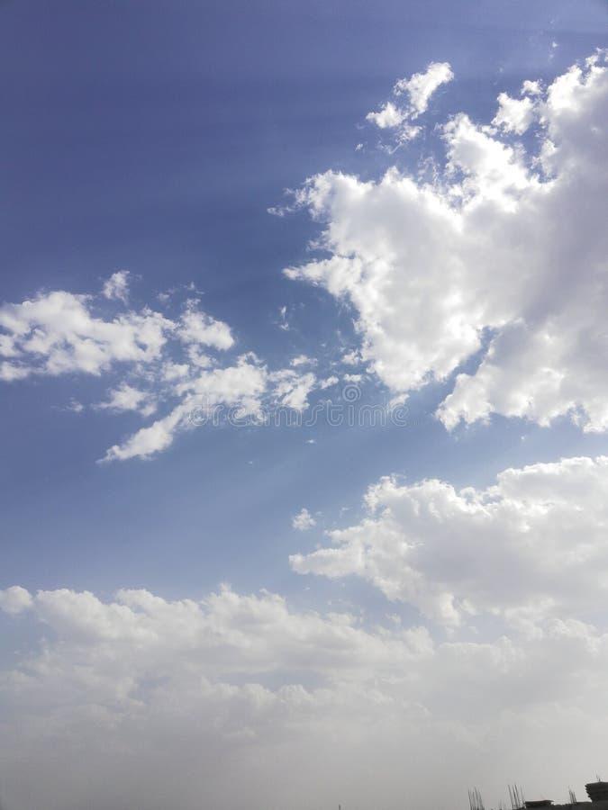 Chmura w tle, linia horyzontu, natura obrazy royalty free