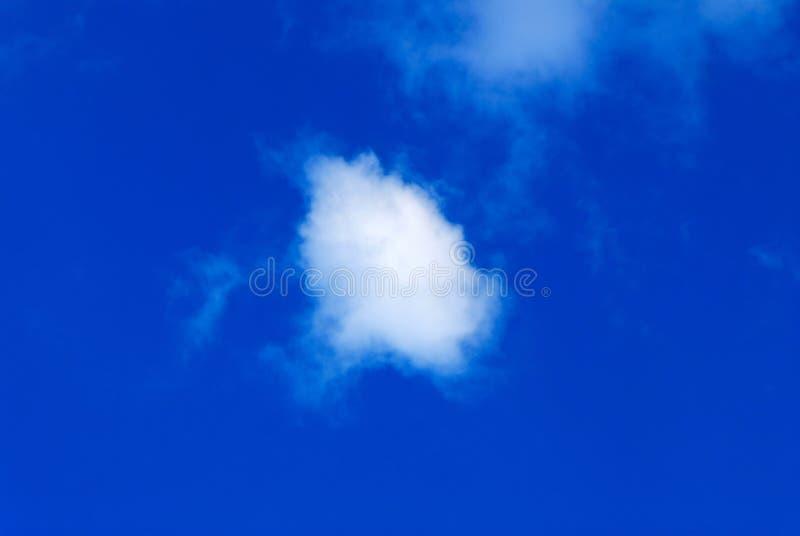 chmura white fotografia stock