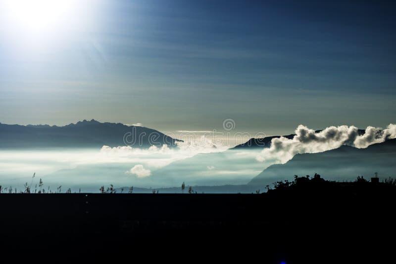 Chmurna góra obrazy royalty free