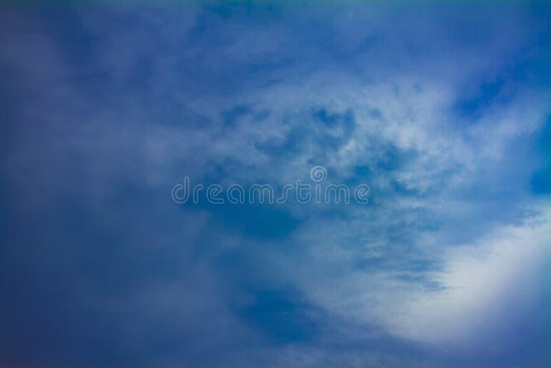 Chmurnego nieba dzień fotografia royalty free