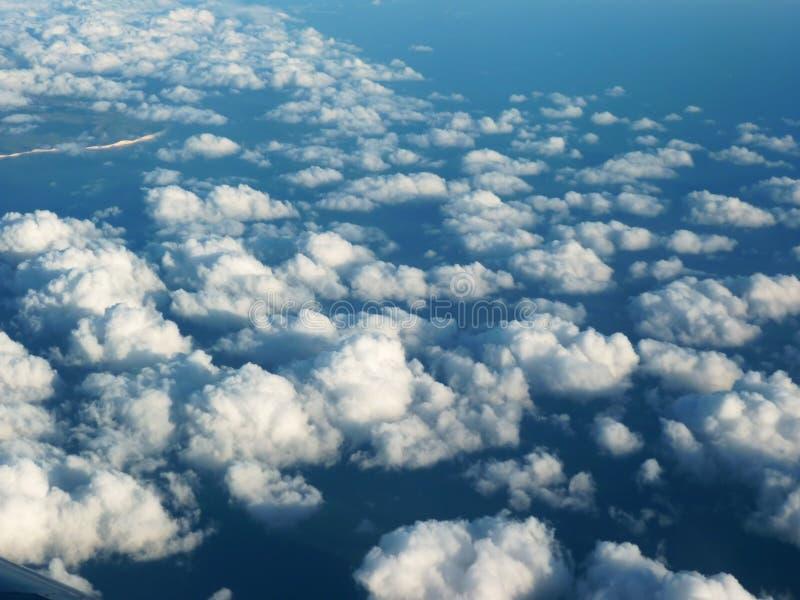 chmurnieje niebo fotografia stock