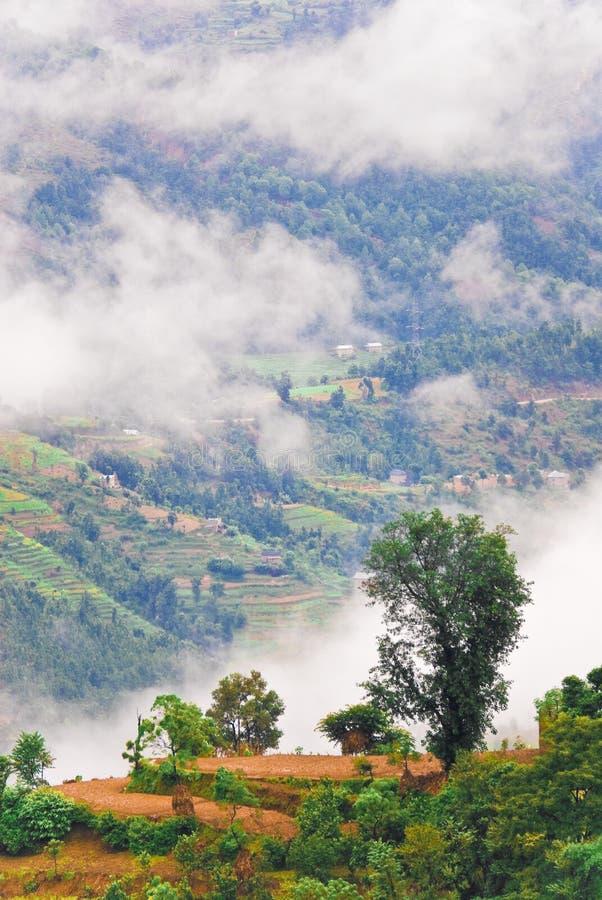 chmurny krajobrazowy tibetan obrazy stock