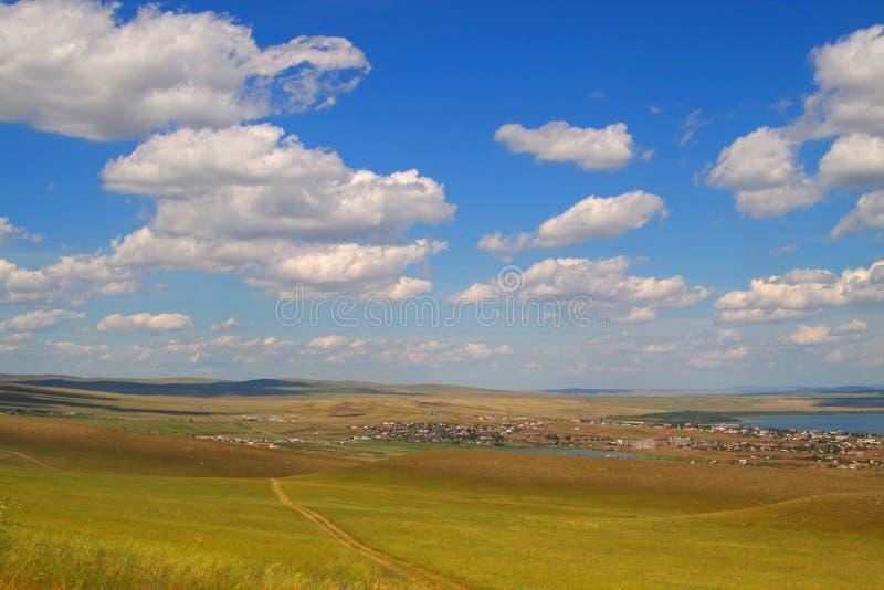 chmurny niebo fotografia stock