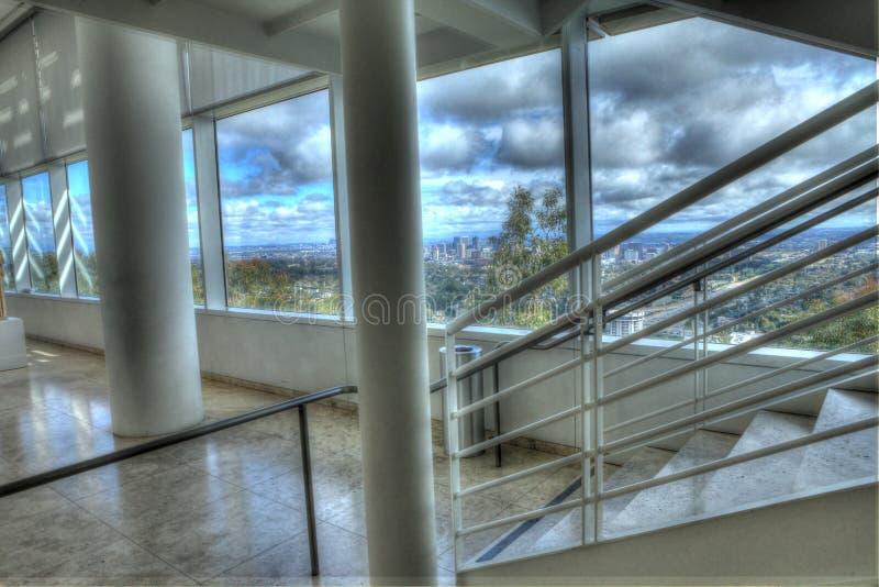 chmurny niebo w los Angeles zdjęcie stock