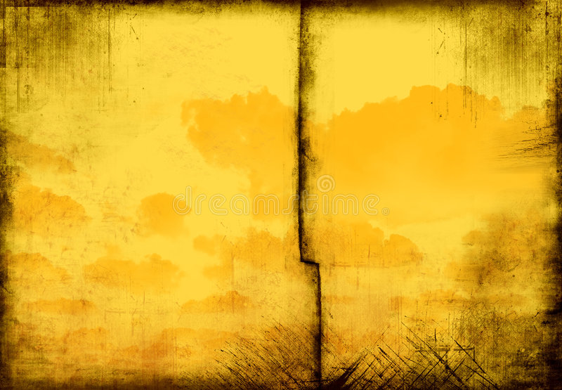 chmurny ramowy grunge stary zdjęcia stock
