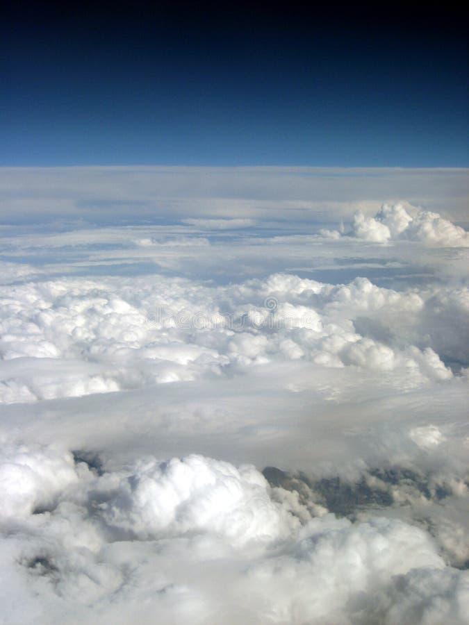 chmury dwa typ zdjęcia stock