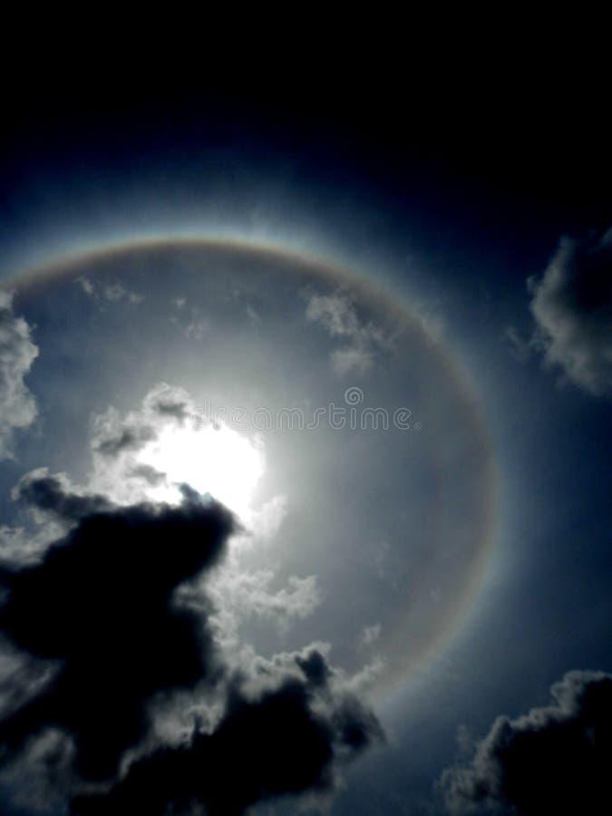Chmury i słońce zdjęcie royalty free