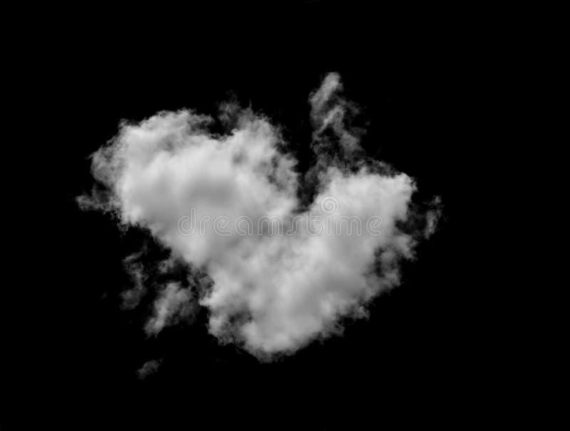 Chmury na czarnym tle zdjęcia royalty free