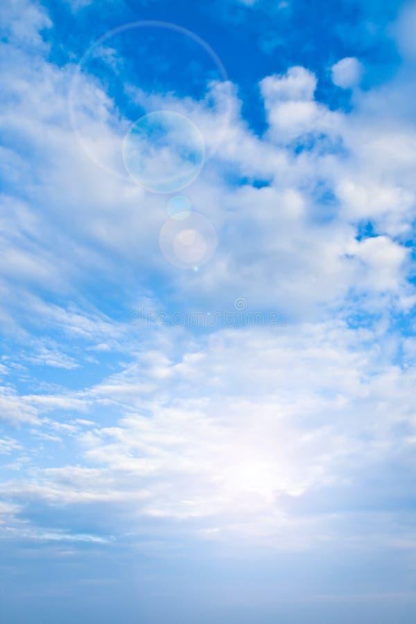 chmury słońce zdjęcia royalty free