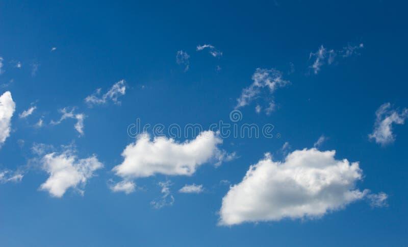 Chmury widoczna masa zgęszczony wodny opary unosi się w obraz stock
