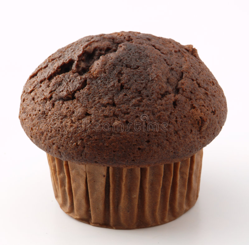 ChoÑolate Muffin Stockbilder