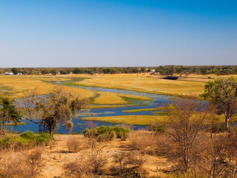 Chobe flod royaltyfria foton