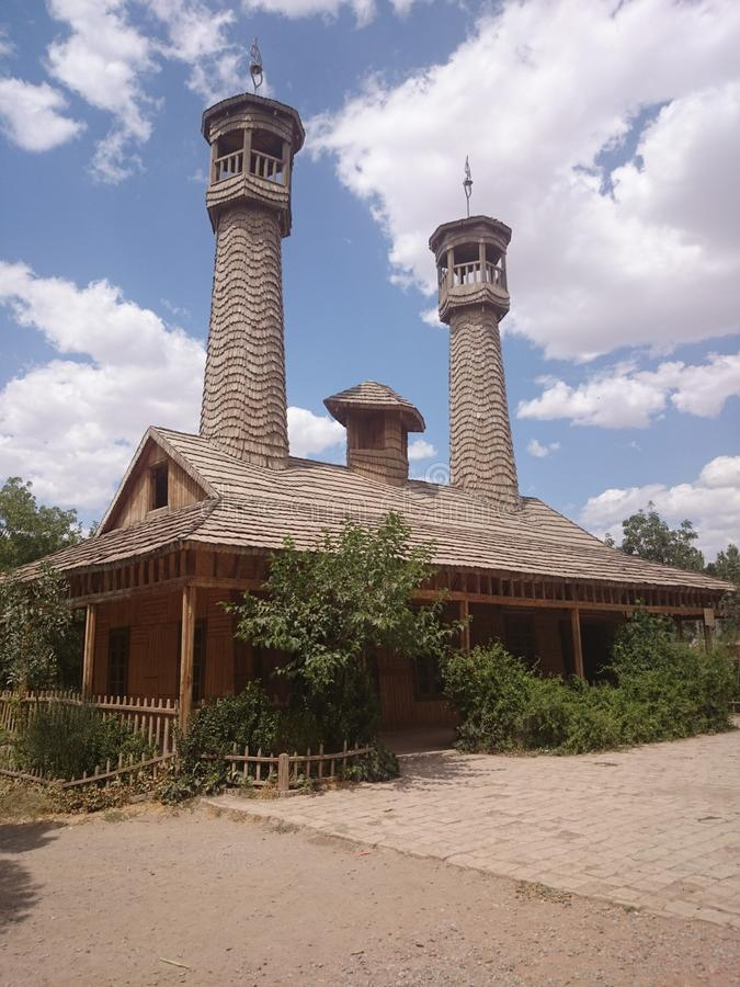 Chobin-Moschee stockfoto