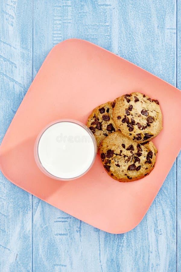 Choc Chip Biscuits immagini stock libere da diritti
