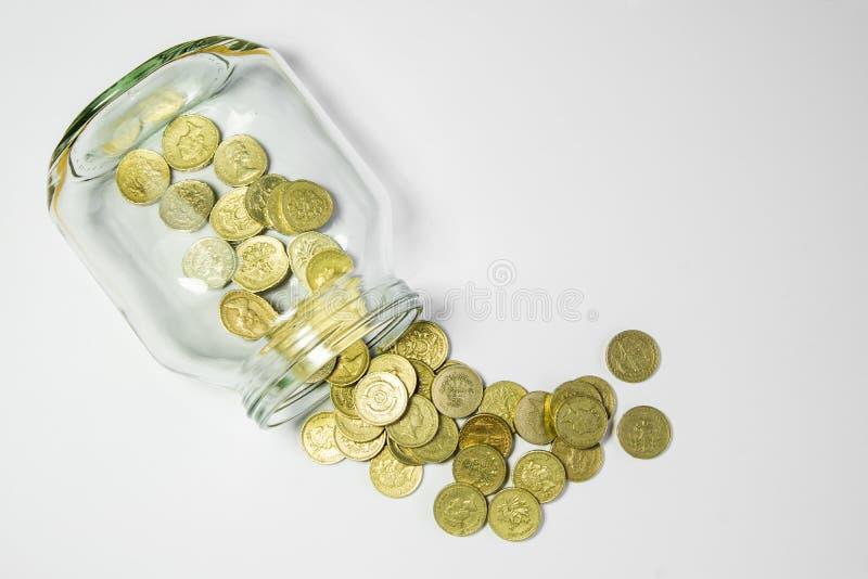 Choc d'argent photo libre de droits