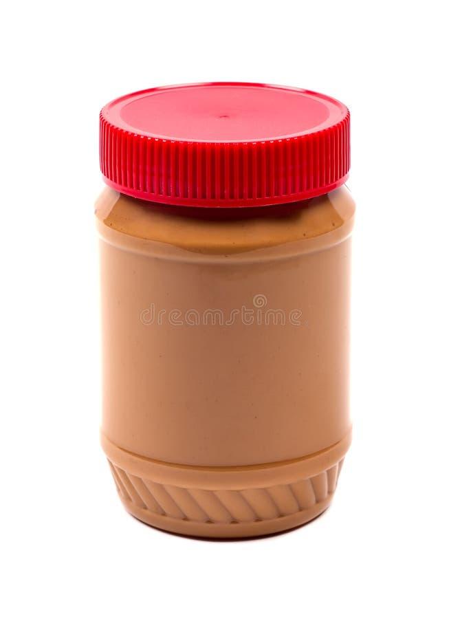 Choc de beurre d'arachide images stock