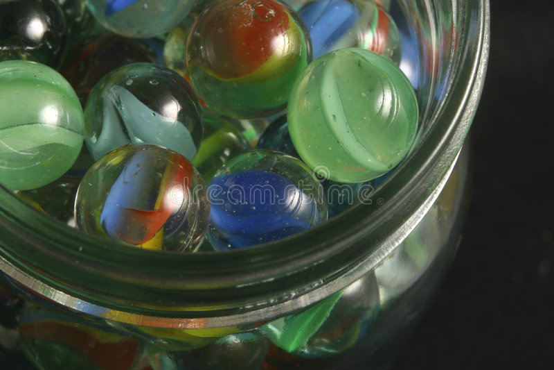 Choc de marbres image stock