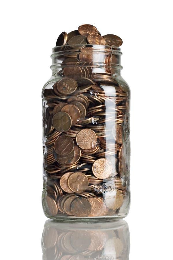 Choc de penny photos libres de droits