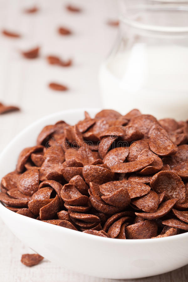 Download Choc Flakes In A Bowl, Close Up Stock Photo - Image: 26850608