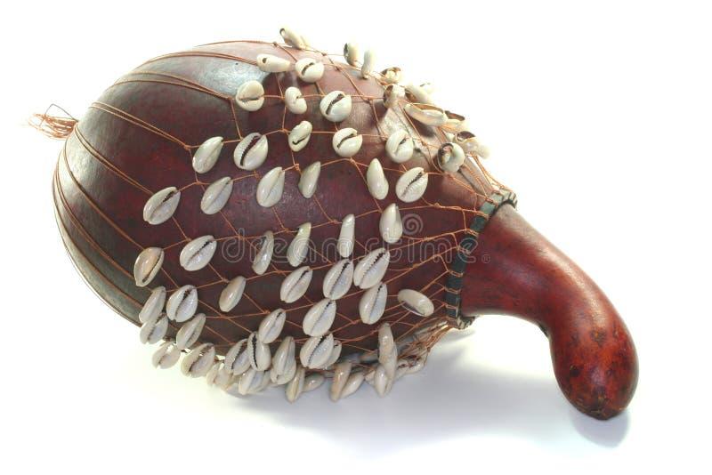 Chocalho do Gourd foto de stock
