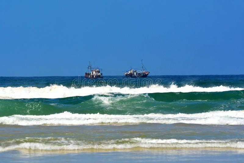 Chocca fartyg, Sydafrika arkivbilder