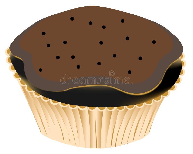 Download Choco muffin stock illustration. Image of chocolate, choco - 17103959