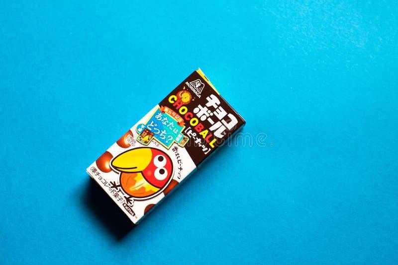 CHOCOBALL快餐-巧克力快餐 库存照片