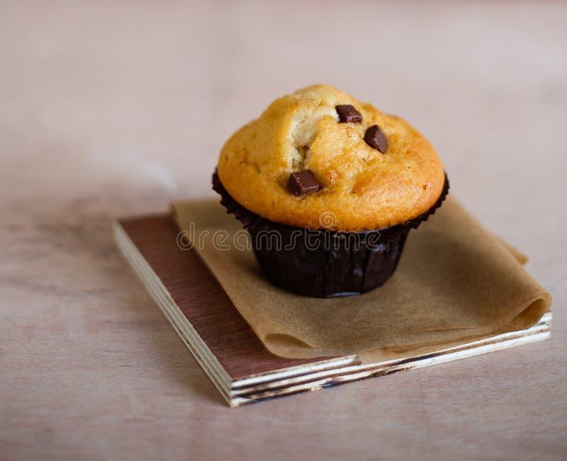 Chocolade Chip Muffin stock foto