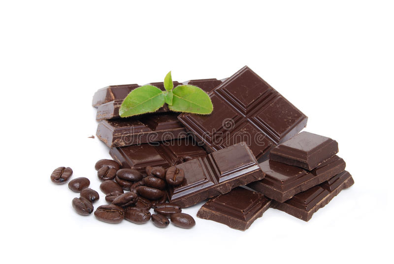 Chocolade Combo stock fotografie