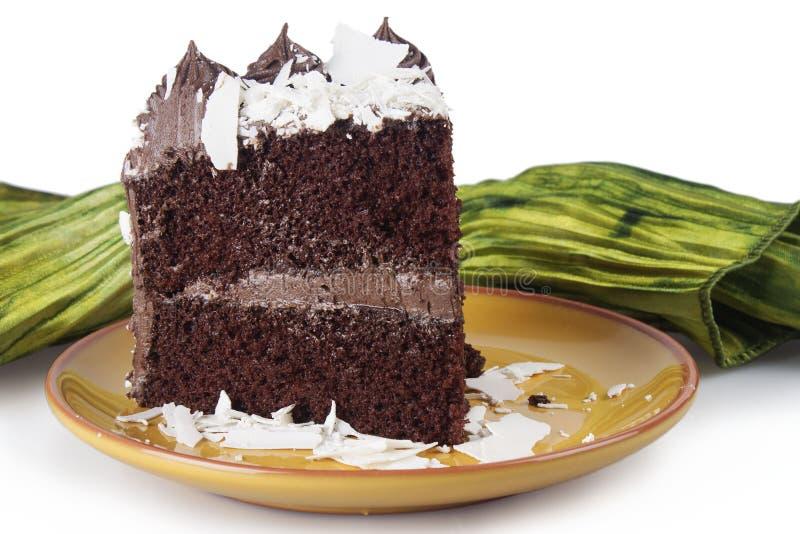 Chocoladecake stock foto